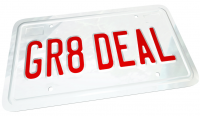 great deal car license plate