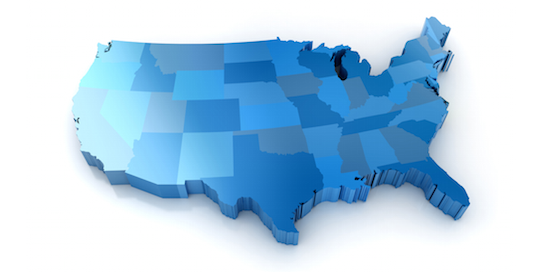 United States In Blue