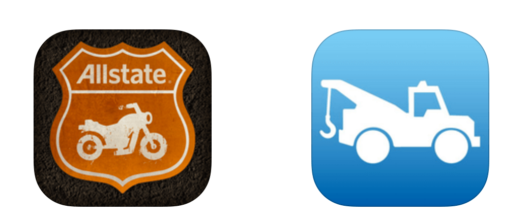Good Ride And Motor Club App Icons