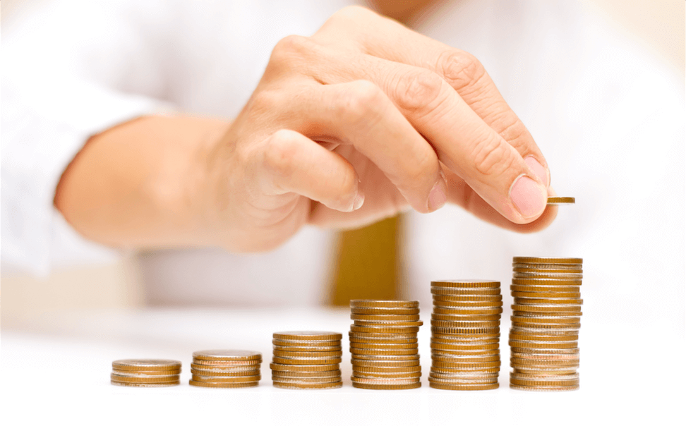 Counting Income By Stacking Coins